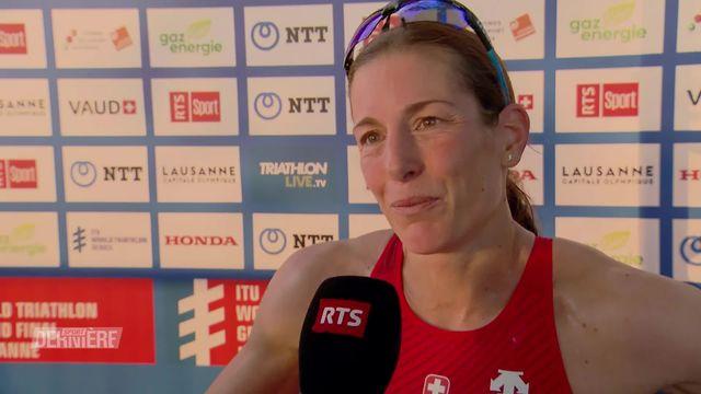 Triathlon, Lausanne: Pari réussit pour Nicola Spirig [RTS]