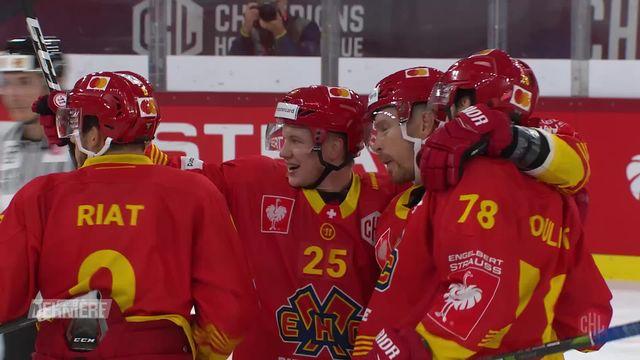 Hockey, Ligue des champions: Bienne - Tappara (1-0) [RTS]