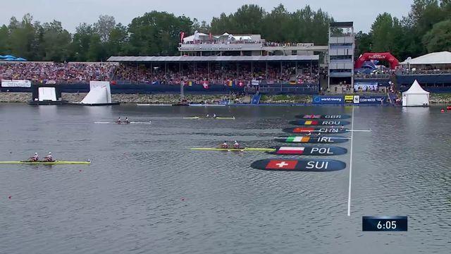 Final deux de couple messieurs: Liu-Zhang (CHN) s'imposent, Delarze-Roeoesli (SUI) termine 5e [RTS]