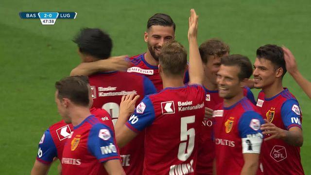 6e journée, FC Bâle - Lugano (2-1): tous les buts de la rencontre [RTS]