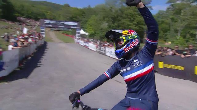 Mont Saint-Anne (CAN), course dames: victoire de Myriam Nicole (FRA) [RTS]