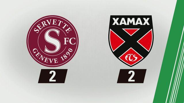 Super League, 6e journée: Servette - NE Xamax (2-2) [RTS]