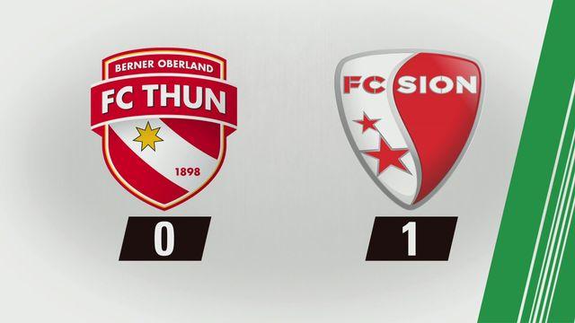 Super League, 6e journée: Thoune - Sion (0-1) [RTS]