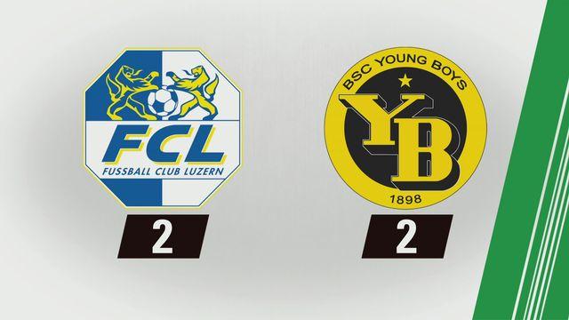 Super League, 6e journée: Lucerne - Young Boys (2-2) [RTS]