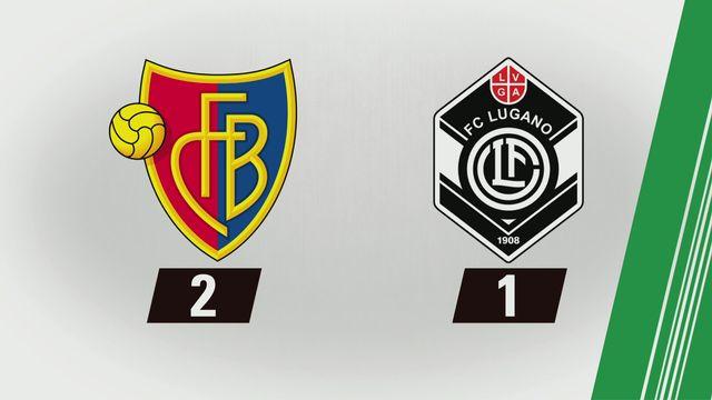 Super League, 6e journée: Bâle - Lugano (2-1) [RTS]