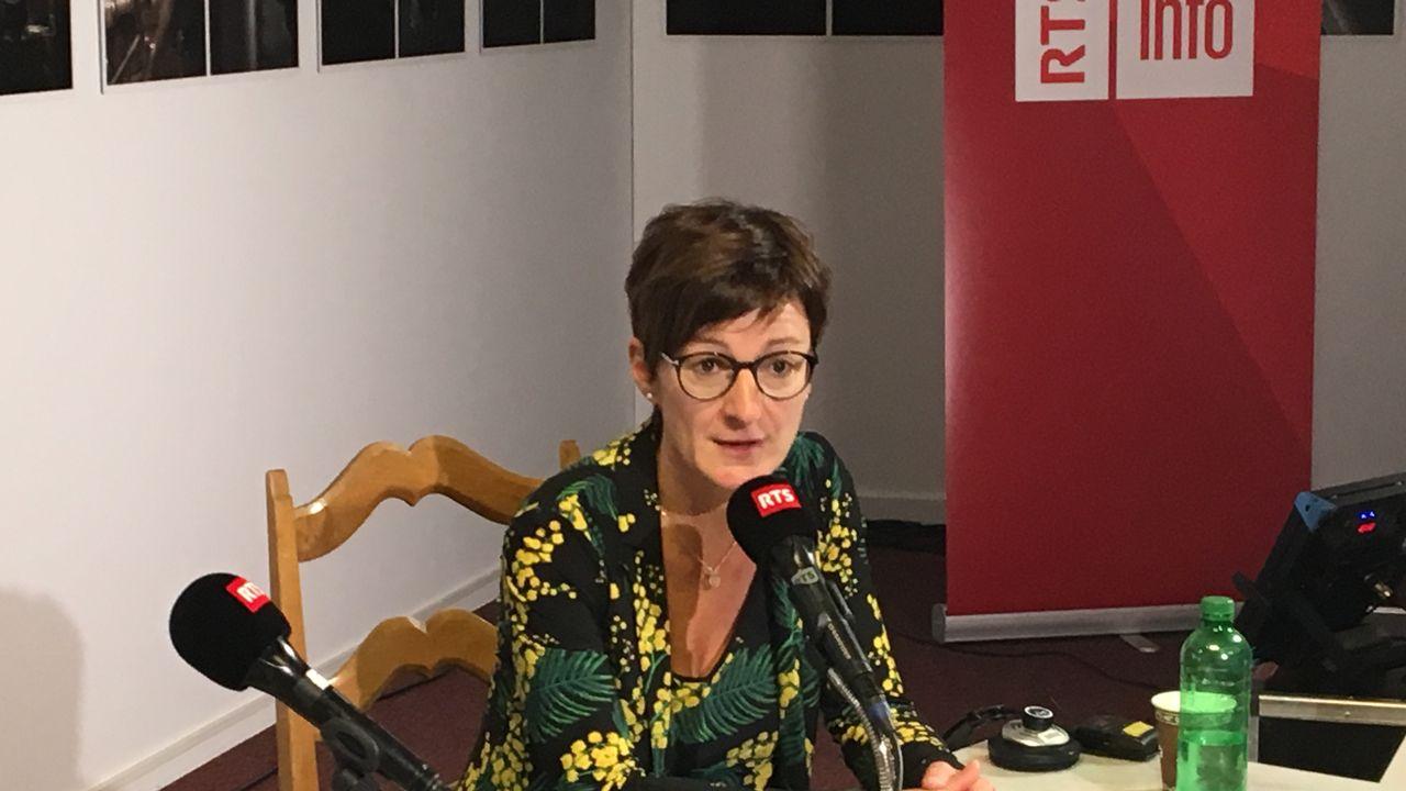 L'invitée de La Matinale - Karin Perraudin, présidente du Groupe Mutuel [Pauline Turuban - RTSinfo]
