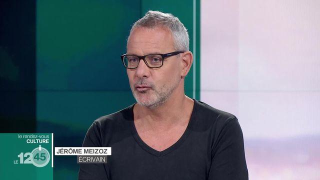 """Pour son rendez-vous culture, Julie Evard reçoit l'écrivain valaisan Jérôme Meizoz, qui publie """"Absolument modernes!"""" [RTS]"""