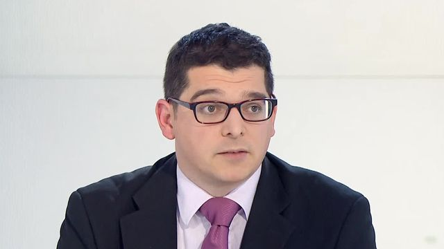 Paul-Olivier Dehaye, mathématicien et expert de la manipulation de données. [RTS]