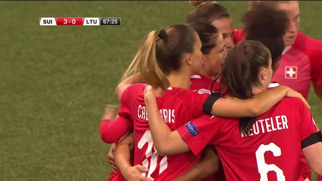 Suisse – Lituanie (4-0): les Suissesses s'imposent largement [RTS]