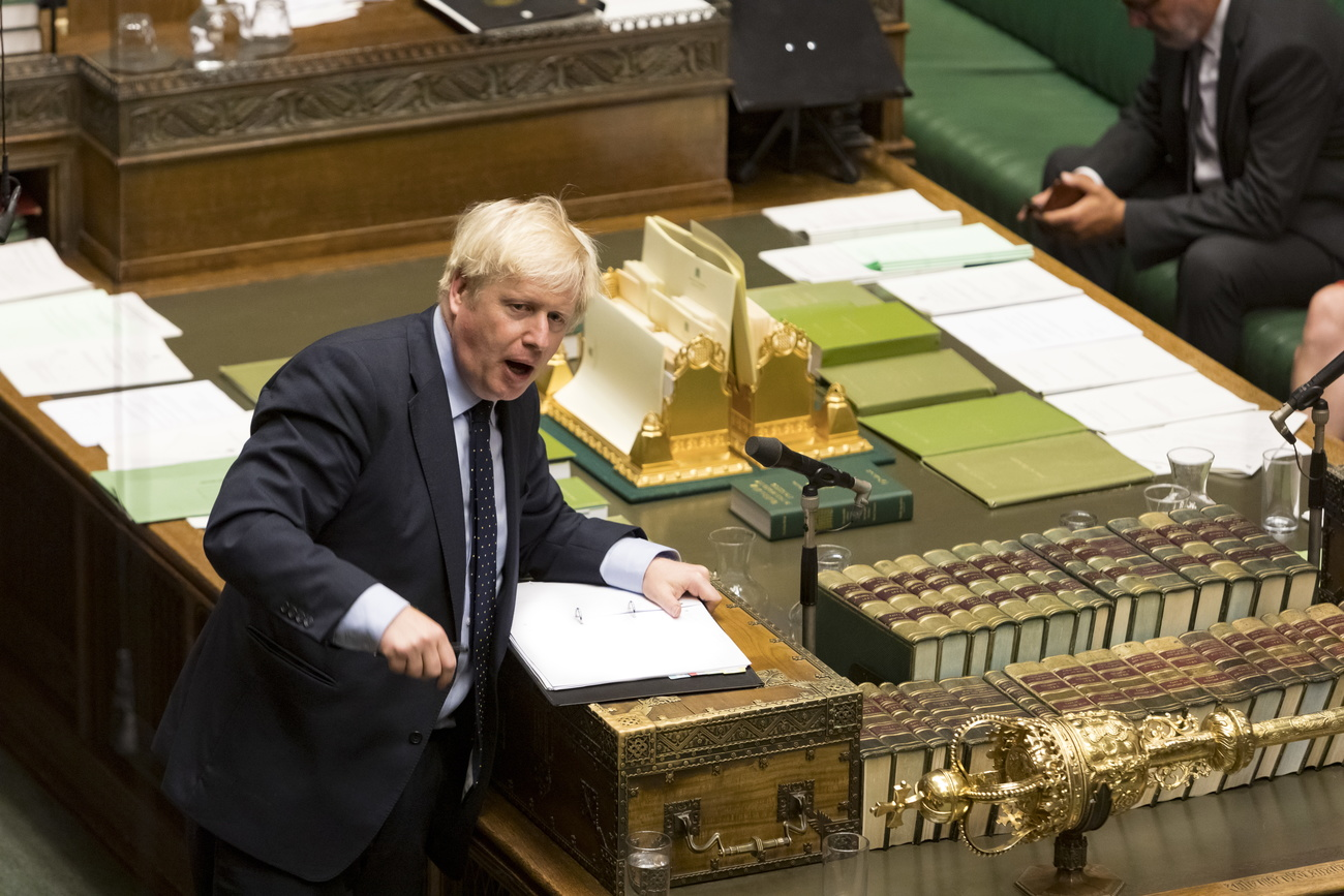 Boris Johnson a perdu un vote décisif au Parlement britannique.
