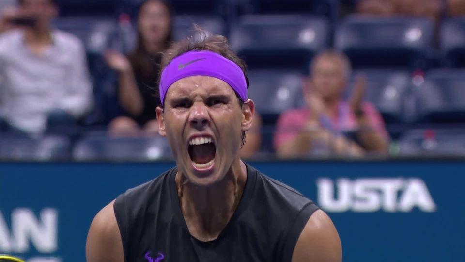 1-4,  R.Nadal (ESP) - D.Schwartzman (ARG) (6-4, 7-5, 6-2): l'Espagnol passe en demies [RTS]