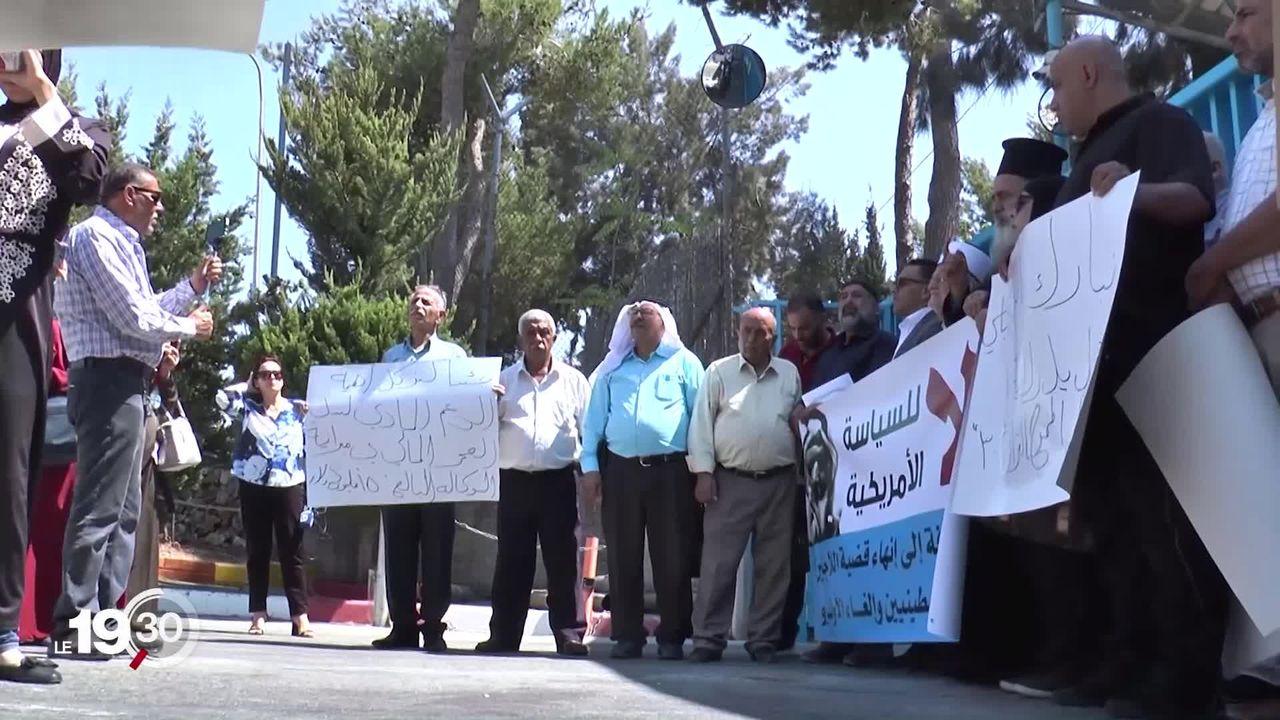 Une rencontre entre Ignazio Cassis et son homologue israélien Israël Katz provoque la colère des Palestiniens. [RTS]
