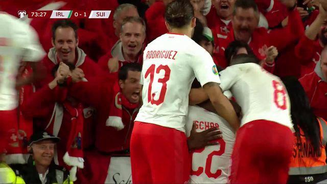 Gr.D, Irlande – Suisse (1-1): des regrets pour la Suisse qui prend un nouveau but en fin de match [RTS]
