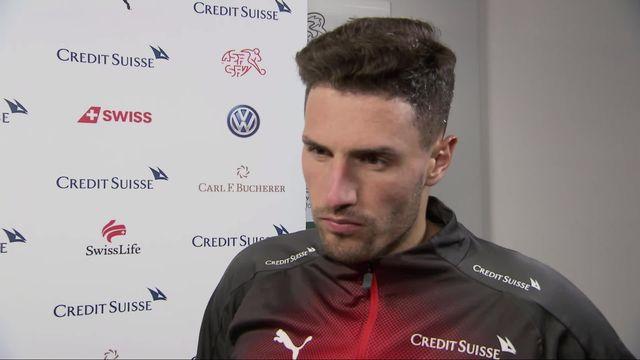 Gr.D, Irlande – Suisse (1-1): Fabian Schär au micro de RTSsport après la rencontre [RTS]