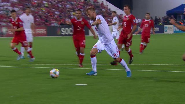 Gr.D, Gibraltar – Danemark (0-6): large victoire du Danemark à Gibraltar [RTS]