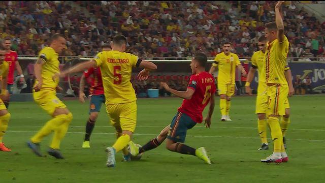 Gr.F, Roumanie – Espagne (1-2): cinquième victoire en autant de matchs pour l'Espagne [RTS]