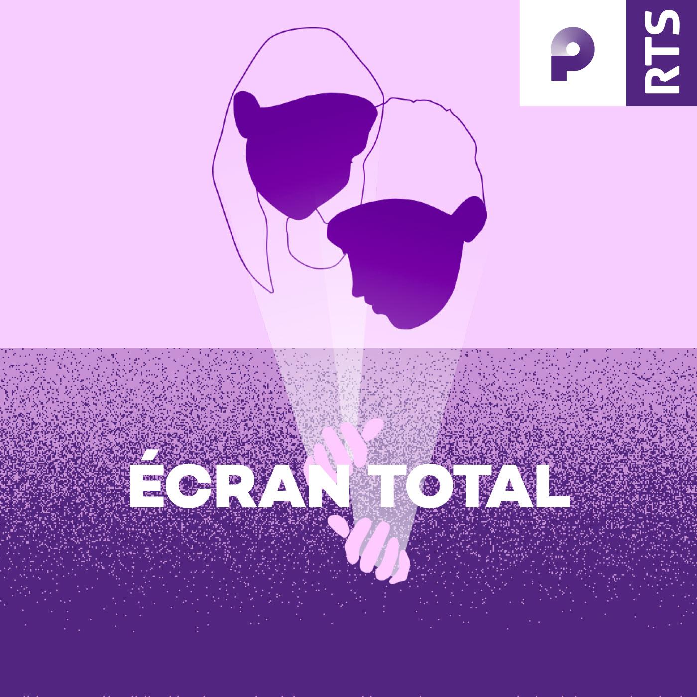 "Visuel ""Écran total"" podcast. [RTS]"