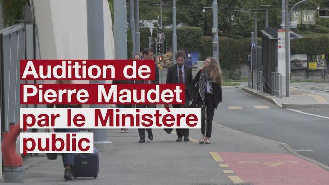 Audition de Pierre Maudet [RTS]