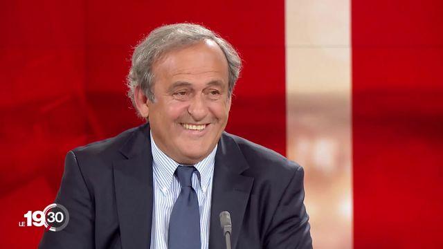 L'ancien président de l'UEFA Michel Platini annonce son retour dans un entretien exclusif à la RTS [RTS]