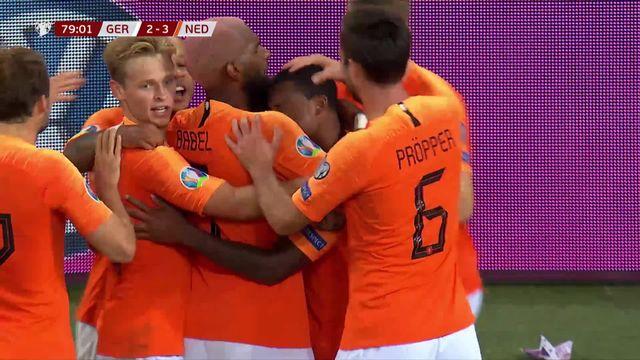 Gr.C, Allemagne – Pays-Bas (2-4): les Bataves renversent l'Allemagne en seconde période [RTS]