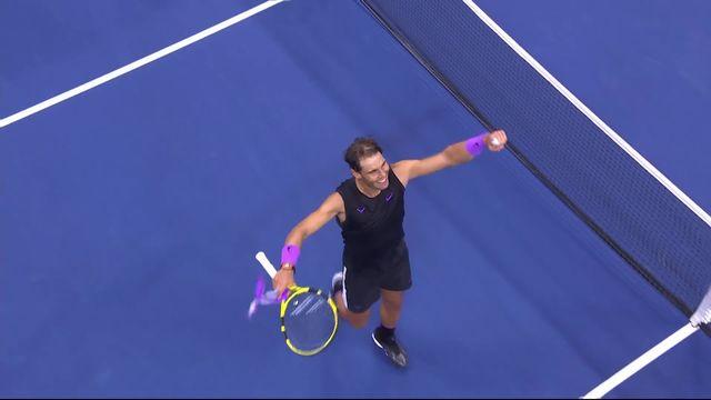 1-2, M.Berrettini (ITA) - R.Nadal (ESP) (6-7, 4-6, 1-6): Nadal bat Berrettini en 3 sets et se hisse en finale [RTS]