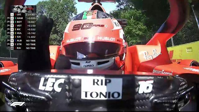 GP d'Italie (#14), Q3: la pole pour Leclerc (MON) [RTS]