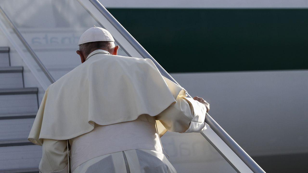 Le pape François. [Peter Klaunzer - Pool/Keytone]