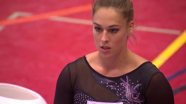 Gymnastique artistique, Championnat de Suisse: Giulia Steingruber (SUI) s'impose avec 53.100 points [RTS]