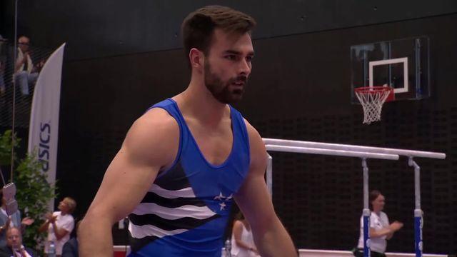 Gymnastique artistique messieurs, Championnat de Suisse: la victoire pour Oliver Hegi (SUI) 70.649 points [RTS]