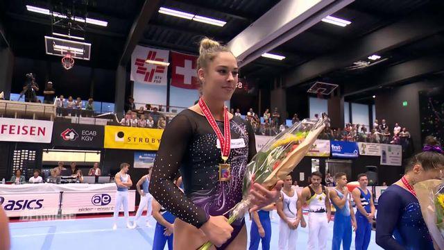 Gymnastique, Championnats de Suisse: retour de Giulia Steingruber et victoire de Oliver Hegi [RTS]