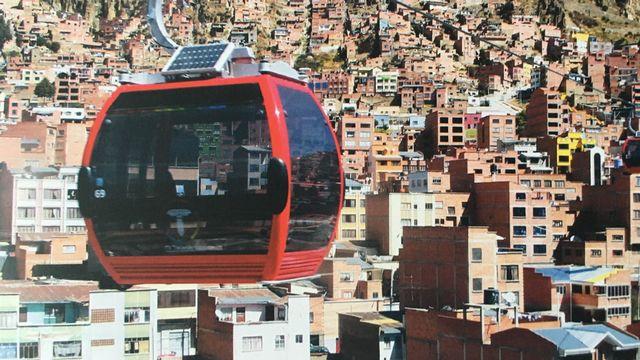 Les téléphériques, une nouvelle mobilité urbaine. [Jean de Preux - RTS]