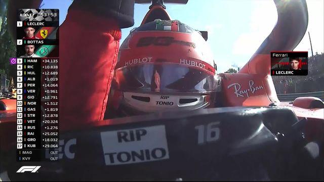 GP d'Italie (#14): deuxième victoires consécutives pour Charles Leclerc (MON) [RTS]