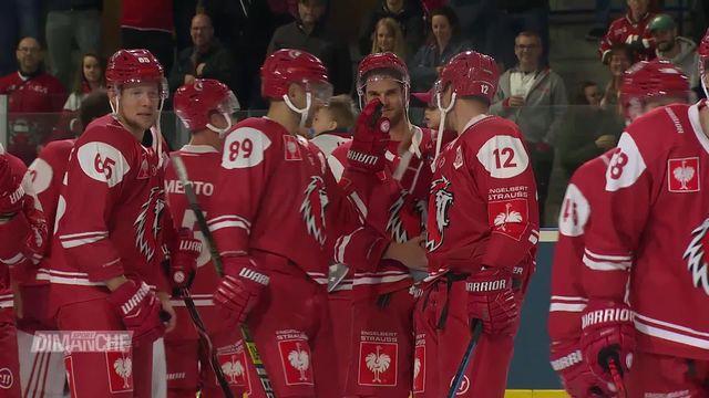 Hockey, Ligue des champions: les matchs de Lausanne et Bienne [RTS]