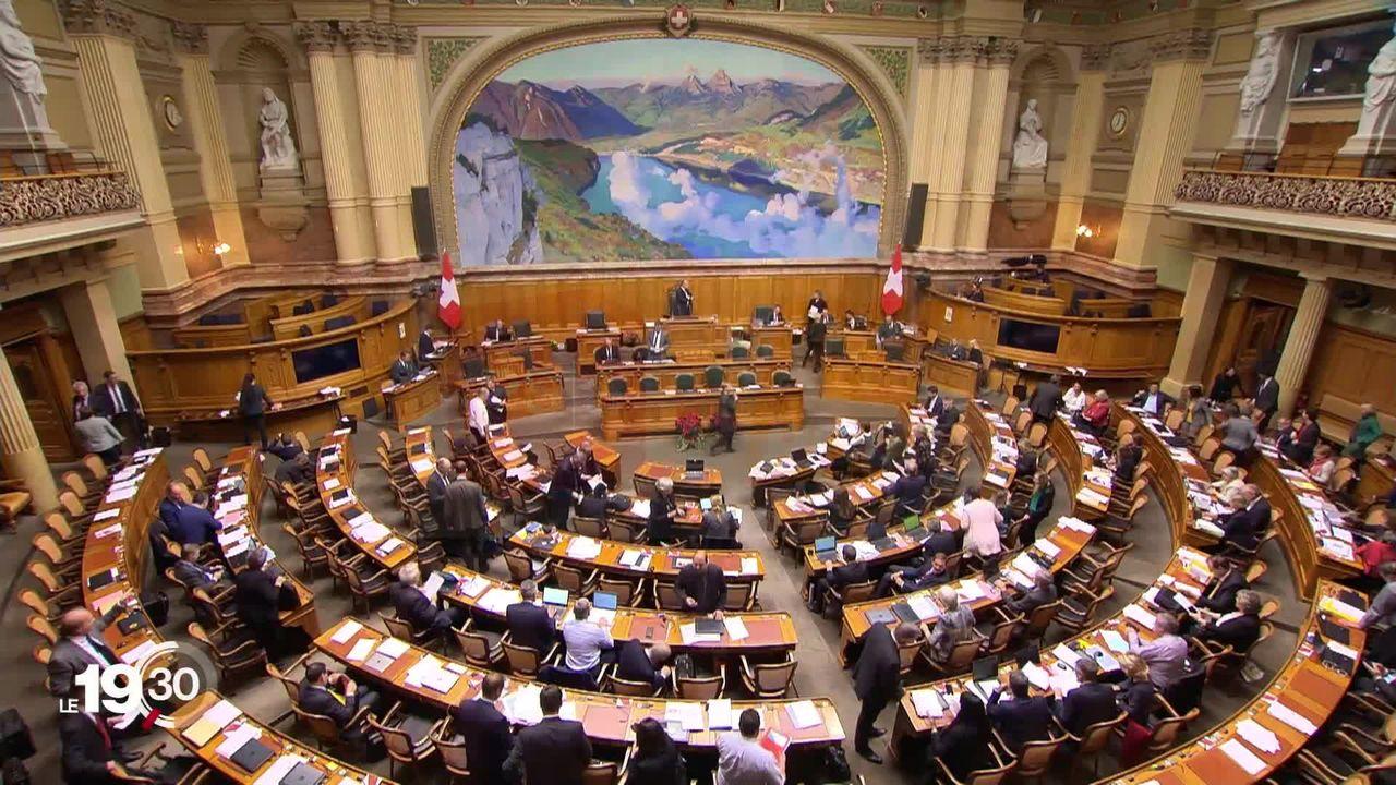 Dernière session pour de nombreux élus à Berne. Un nombre record de parlementaires ne se représentent pas. [RTS]