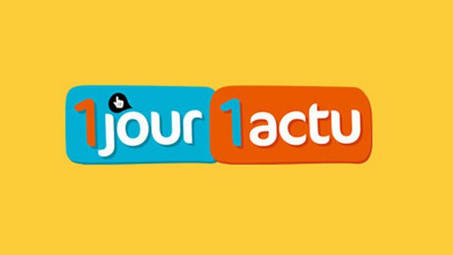 Le logo de 1 jour, 1 actu. [1jour1actu.com - © Milan Presse]