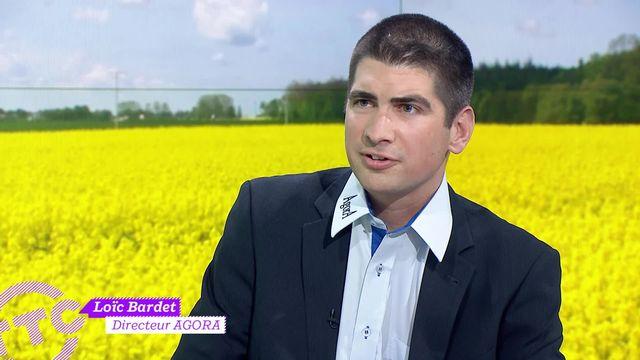 Interview Loïc Bardet, directeur d'AGORA autour des pesticides dans l'agriculture [RTS]