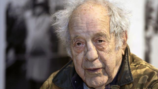 Le photographe et cinéaste d'origine suisse Robert Frank, ici à New York, le 28 janvier 2016. [AP Photo/Kathy Willens - Keystone]