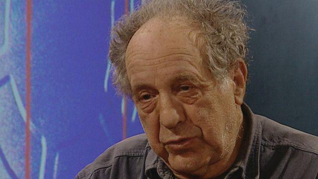 Le photographe américain d'origine suisse Robert Frank en 1999. [RTS]
