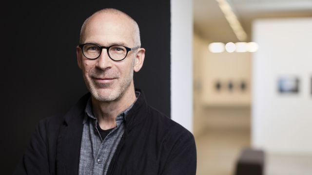 Peter Pfrunder, directeur de la Fondation suisse pour la photographie. [Gaetan Bally - Keystone]