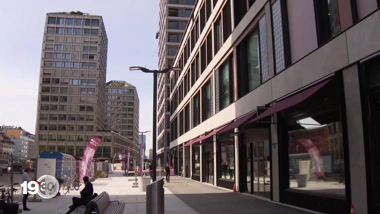 15e anniversaire de Google et ouverture d'un nouveau siège à Zurich. 400 collaborateurs travaillent pour le géant américain. [RTS]
