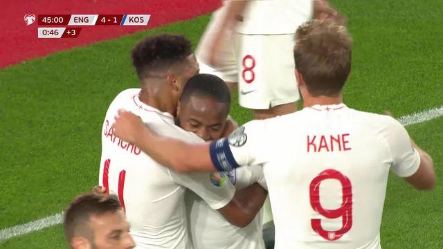 Football, qualifs Euro 2020: Angleterre-Kosovo 5-3 [RTS]