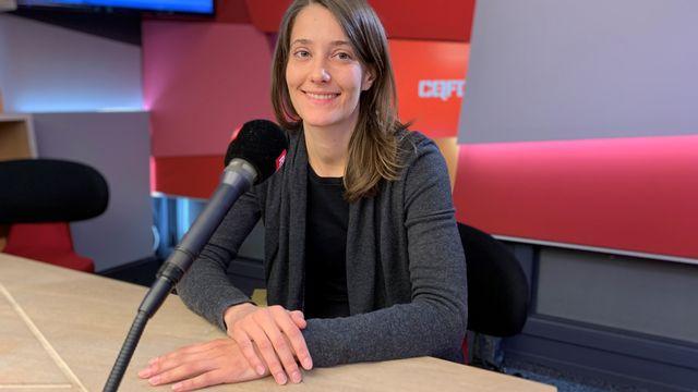 Monika Lendl, chercheuse senior au Département d'astronomie de l'Université Genève. Sébastien Blanc RTS [Sébastien Blanc - RTS]