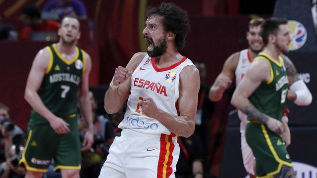 L'Espagne a dû s'employer pour venir à bout de l'Australie. [Andy Wong - Keystone]