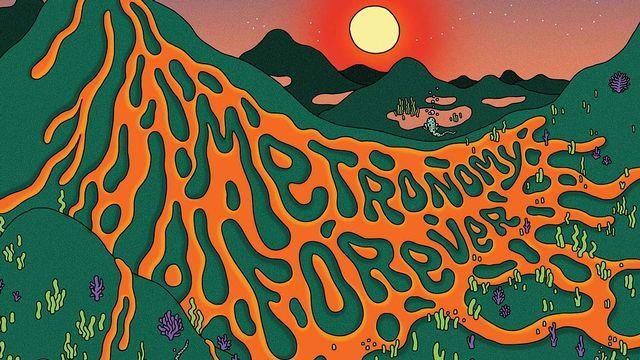 """Pochette du dernier album de Metronomy, """"Metronomy Forever"""". [Because Music]"""