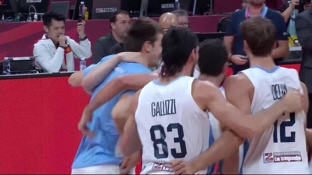 1-2, Argentine – France (80-66): l'Argentine écrase la France et rejoint l'Espagne en finale! [RTS]