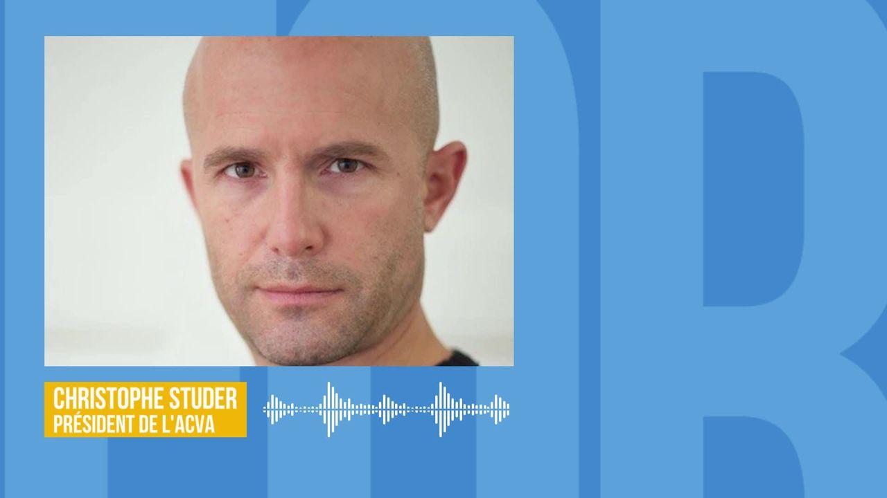 Les policiers et ambulanciers vaudois opposés aux zones 30km-h: interview de Christophe Studer [RTS]