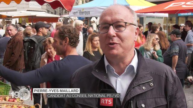 Élections fédérales: les locomotives de la politique vaudoise partent en campagne. [RTS]