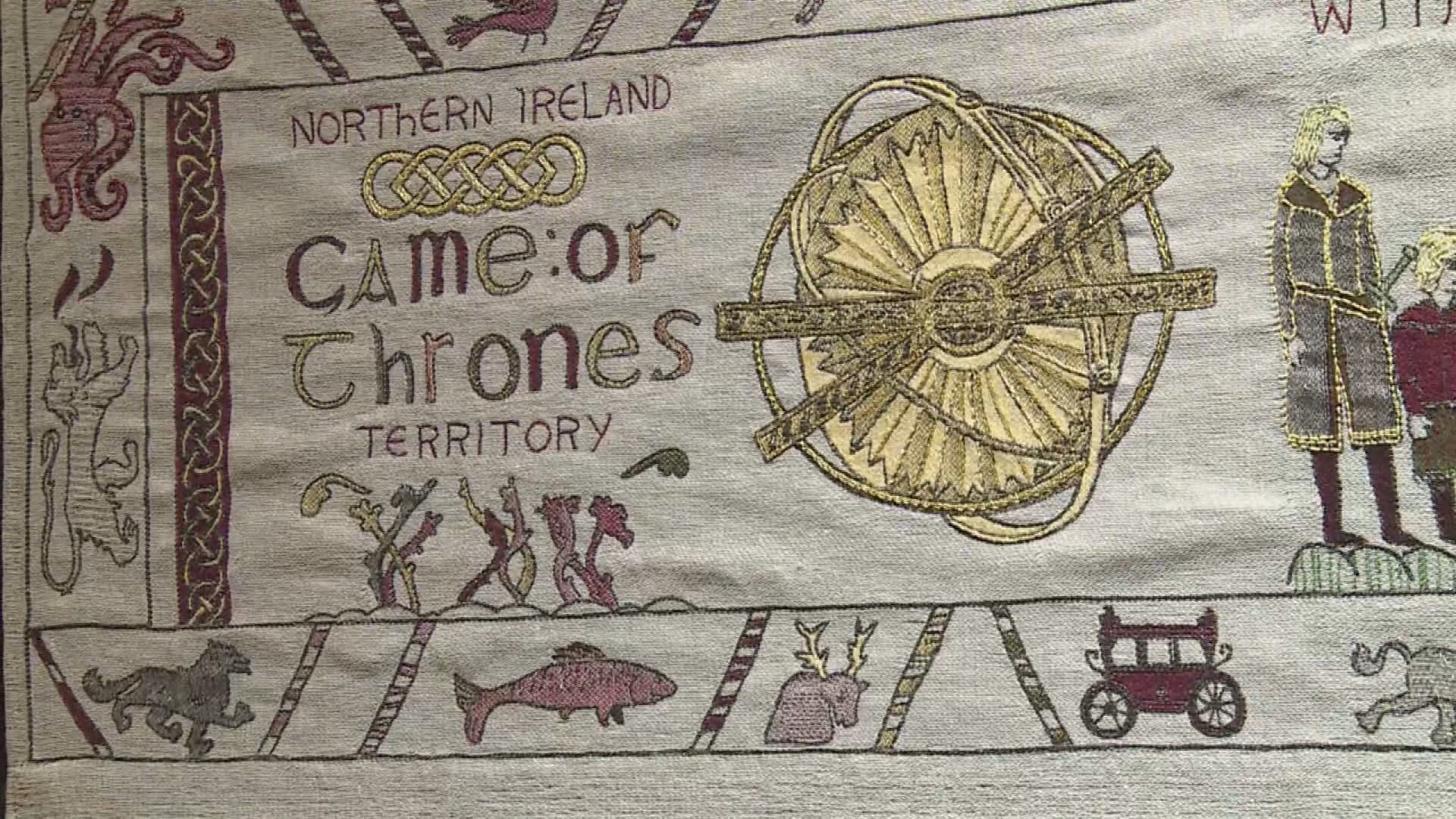 Une tapisserie de Bayeux version Game of Thrones exposée en Normandie