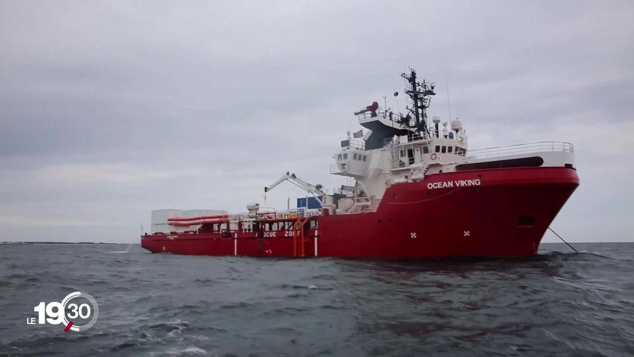 Ocean Viking: Lampedusa donne son feu vert à l'accueil de 82 migrants. [RTS]