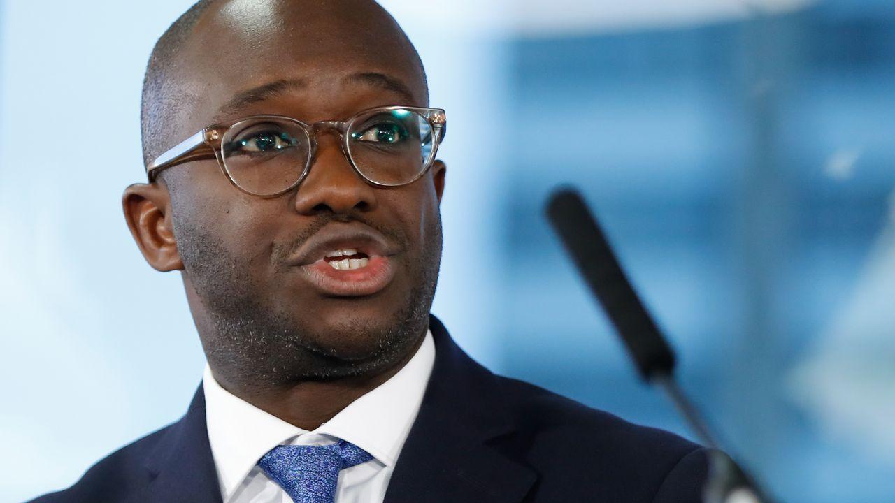 Sam Gyimah quitte le parti conservateur, un nouveau revers pour Boris Johnson. [Tolga Akmen - AFP]